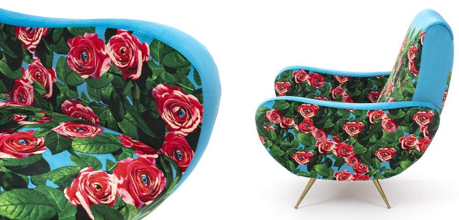 Кресло Seletti Armchair Roses  - фото 2