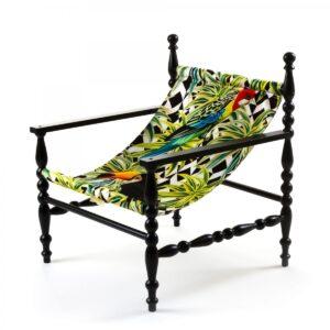 Кресло Seletti Heritage Armchair Parrots