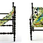 Кресло Seletti Heritage Armchair Parrots  - фото 2