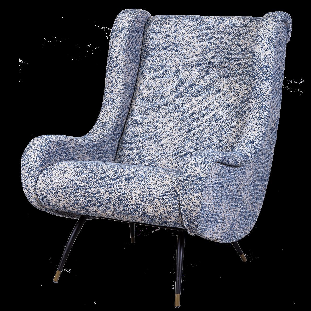 Кресло Sofia blue  - фото 1