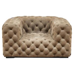 Кресло Soho Tufted Beige Armchair
