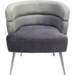 Кресло Gray Velvet Superposition  - фото 1