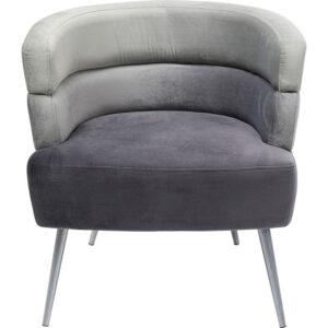 Кресло Gray Velvet Superposition