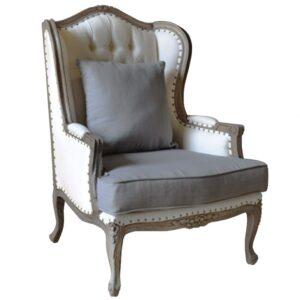 Кресло Villa Grandfather linen