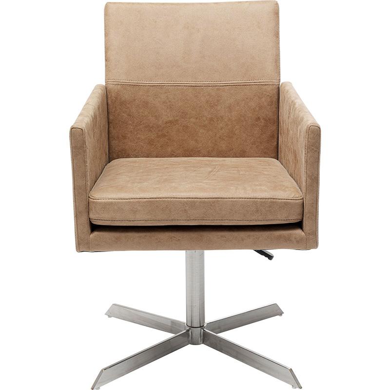 Кресло вращающееся Beige Queenie  - фото 1