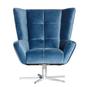 Кресло вращающееся Lord Armchair blue