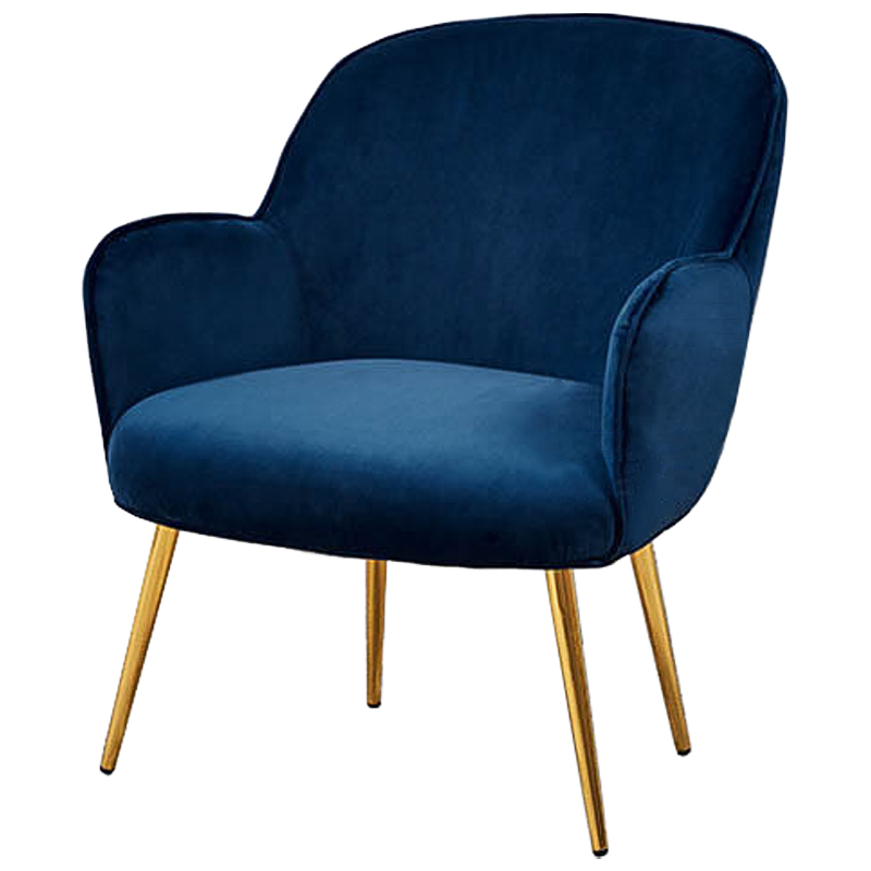 Кресло Waldeck Chair Blue  - фото 1