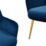 Кресло Waldeck Chair Blue  - фото 2