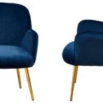 Кресло Waldeck Chair Blue  - фото 3