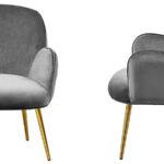 Кресло Waldeck Chair Gray  - фото 3