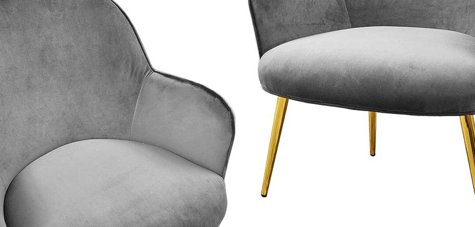 Кресло Waldeck Chair Gray  - фото 2