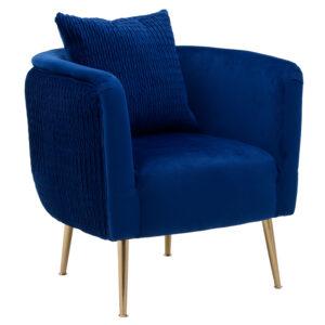 Кресло Yvette Armchair Blue