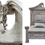 Кровать Gothic Style Bed White  - фото 2