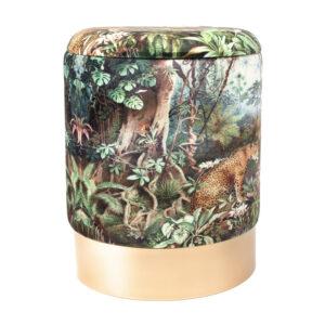 Пуф PUF Jungle Print lynx
