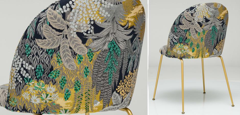 Jungle chair Стул обивка Джунгли жакард  - фото 3