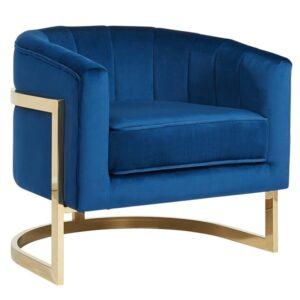 Кресло Accent Velvet chair