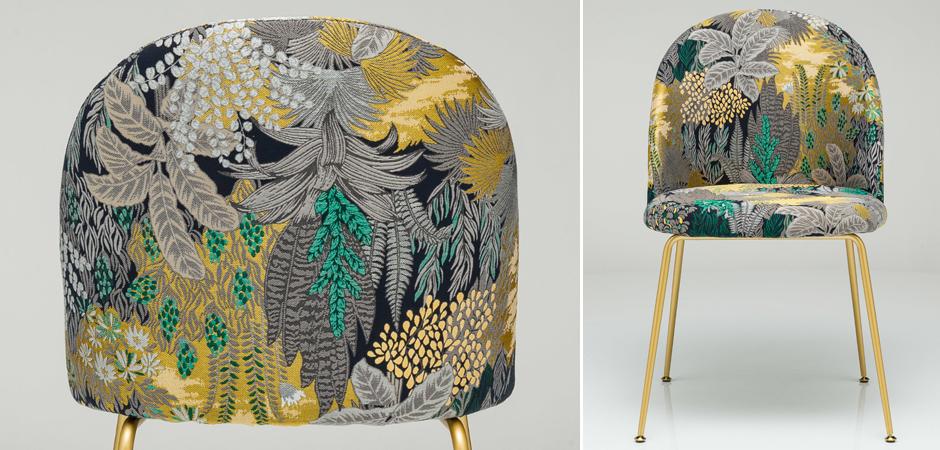 Jungle chair Стул обивка Джунгли жакард  - фото 5