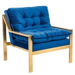 Кресло Accent Velvet Armchair