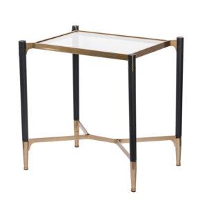 Приставной столик Black & Gold Table