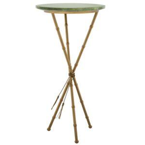 Green Stingray Skin Side Tables