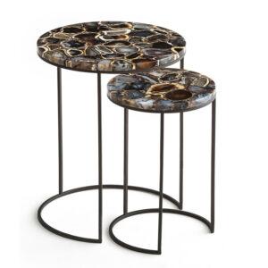 Комплект приставных столов Natural Agate