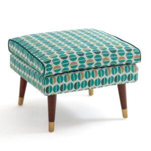 Пуф Classic Furniture синий белый желтый