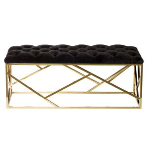 Банкетка Serene Furnishing Gold Top