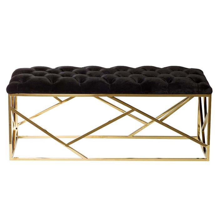 Банкетка Serene Furnishing Gold Top   - фото 1