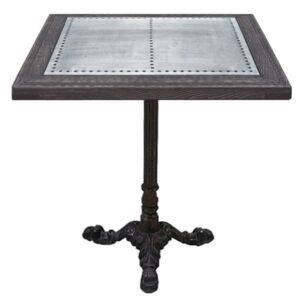 Стол для ресторана Restaurant table square Metal sheet
