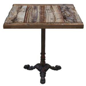 Стол для ресторана Vintage restaurant table square