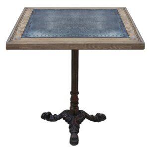 Стол для ресторана Restaurant table square Metal sheet II
