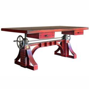Большой рабочий стол Monika Idustrial Desk