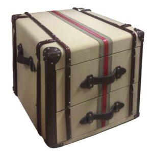 Сундук Richards Red line Canvas Medium trunk