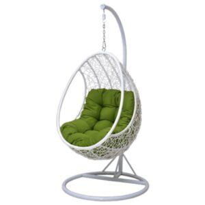 Кресло Swing chair outdoor White Egg