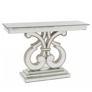 Консоль Mirrored Patterned Console