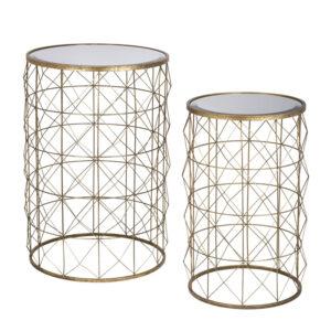 Комплект приставных столов Mirror Surface Table round