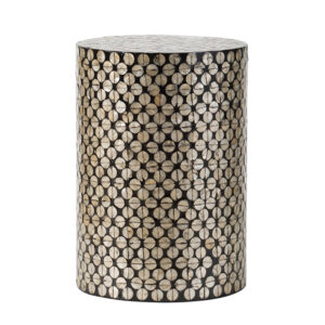 Приставной стол Bone Inlay Oyster Shells