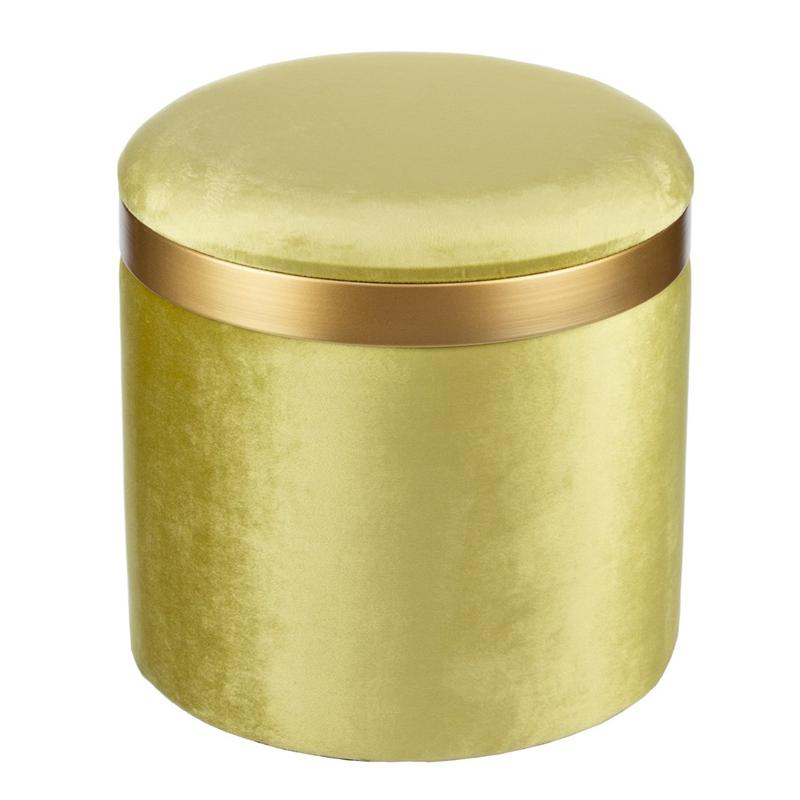 Пуф Golden Belt Pistachio фисташковый  - фото 1