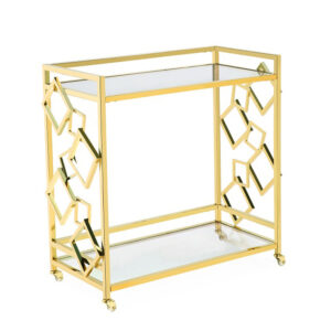 Приставной стол Serving Table gold