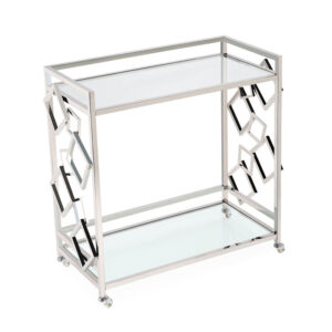 Приставной стол Serving Table chrome