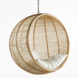 Подвесное кресло Wicker Hanging Chair