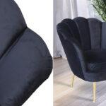 Кресло Trapezium Velur Black  - фото 2
