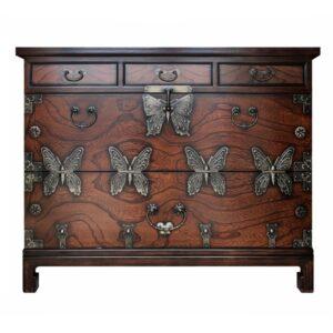 Китайский комод Chinoiserie chest of drawers Butterfly