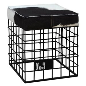 Табурет Cow Skin stool