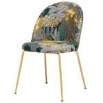 Jungle chair Стул обивка Джунгли жакард  - фото 1