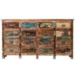 Комод Antique Wood 16 boxes  - фото 1