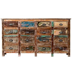 Комод Antique Wood 16 boxes