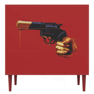 Комод Toiletpaper Revolver Furniture with a Surreal Mood