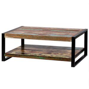 Журнальный стол Multicolored Antique Wood & Metal