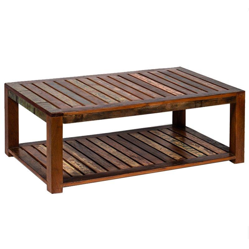 Журнальный стол Multicolored Antique Wood  - фото 1